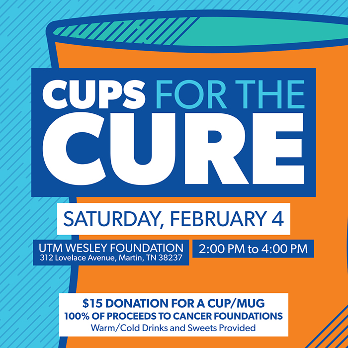 UT Martin   Cups for the Cure to benefit cancer patients