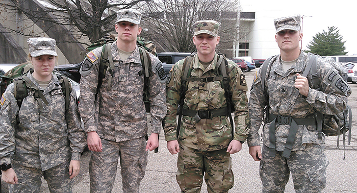 UT Martin | UT Martin cadets earn German Armed Forces Proficiency Badges