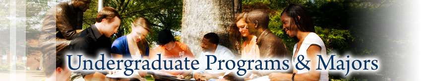 Undergraduate Programs and Majors