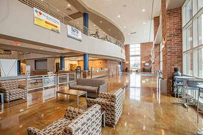 Student Recreation Center Lobby