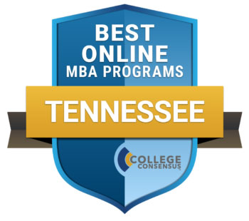 College Consensus Best Online MBA Programs in Tennessee Logo