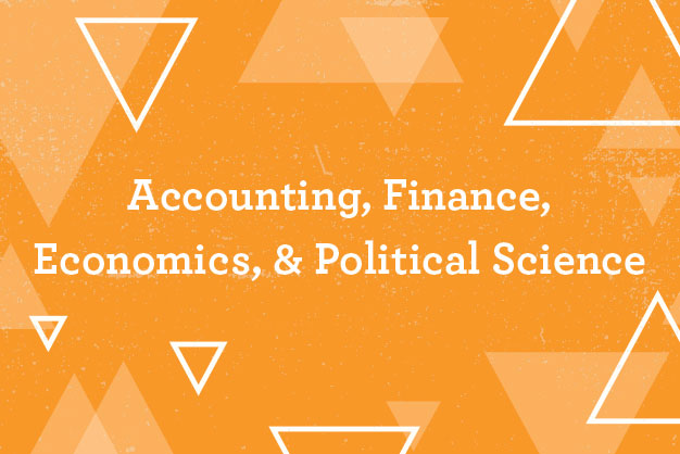 Accounting, Finance, Economics, and Political Science link