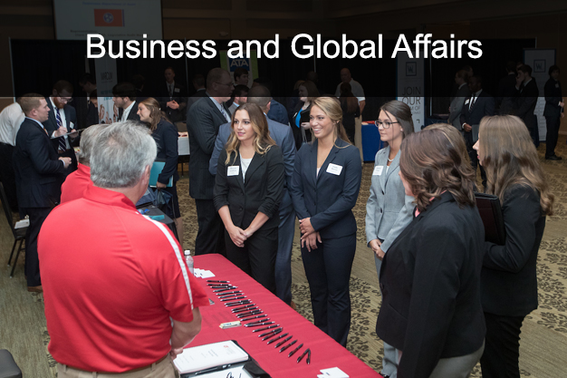 UT Martin Dual Enrollment Business and Global Affairs courses link