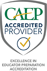 CAEP Accreditation Badge