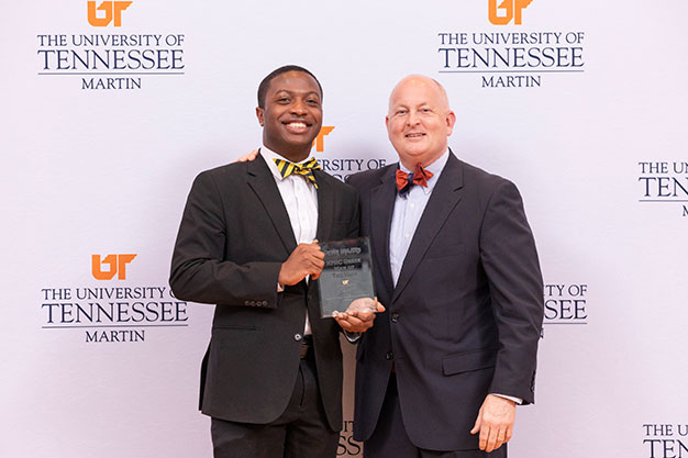 Devin Majors, NPHC Man of the Year