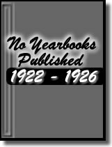 No yearbooks from 1922-1926