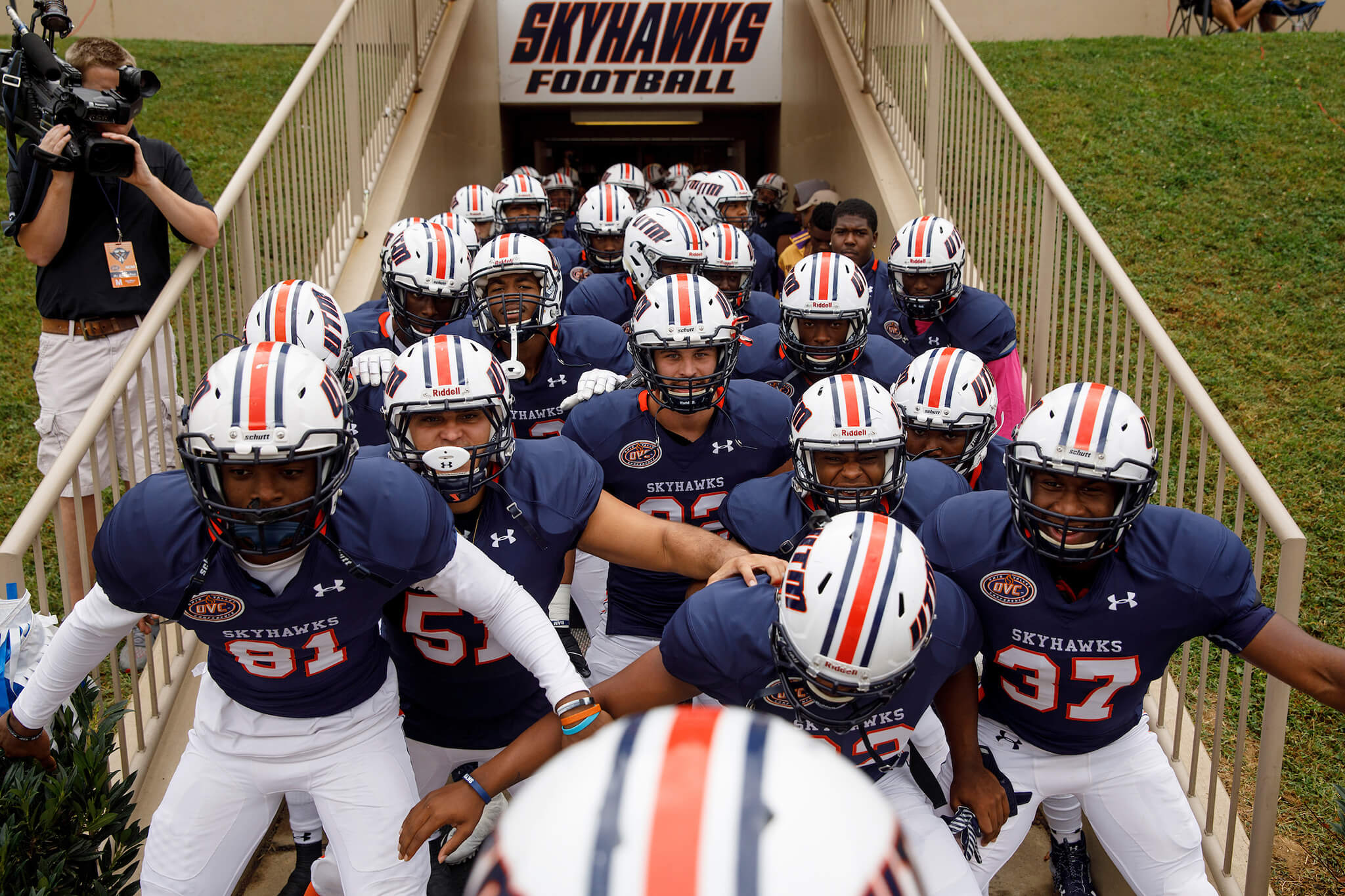 Skyhawk football team